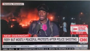 """Mostly peaceful protests"""